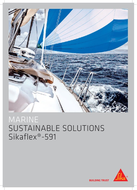 Sikaflex®-591 - Sustainable Solutions in Marine