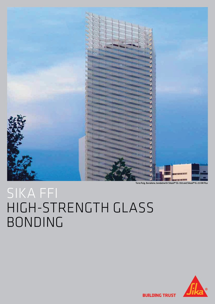 High-Strength Glass Bonding