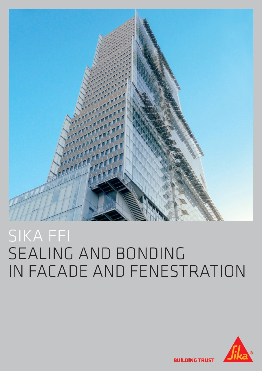 Sealing and Bonding in Facade and Fenestration