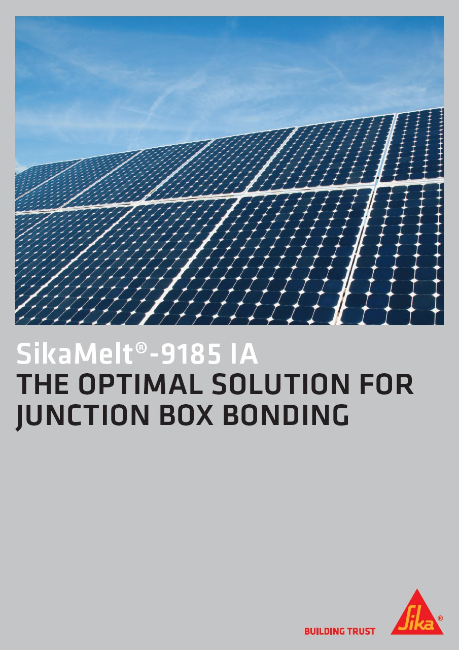 SikaMelt®-9185 IA - The Optiomal Solution for Junction Box Bonding