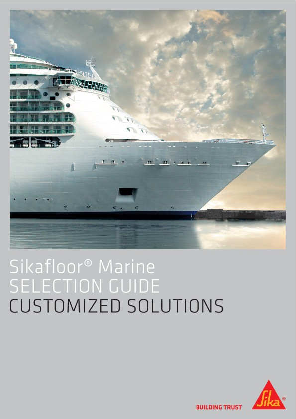 Sikafloor® Marine - Selection Guide