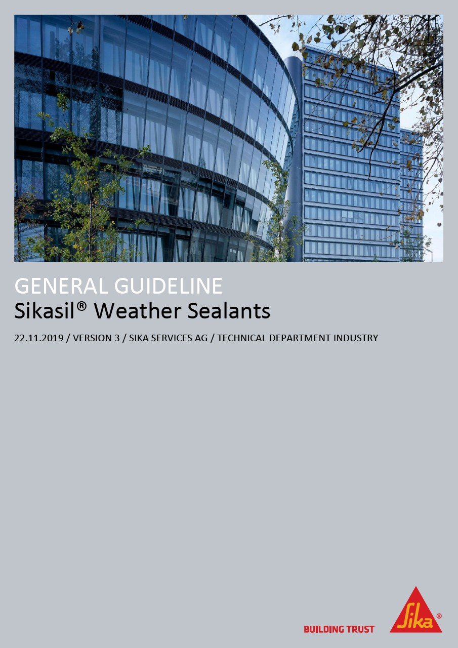 Sikasil® Weather Sealants