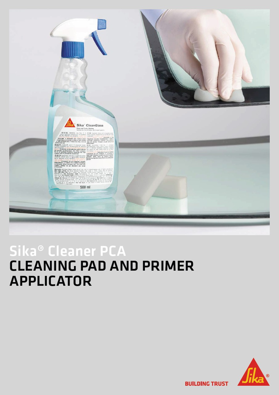Sika® Cleaner PCA - Cleaning Pad and Primer Applicator