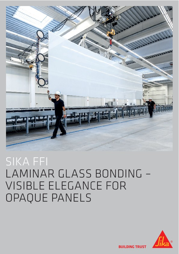 Laminar Glass Bonding - Visible Elegance for Qpaque Panels