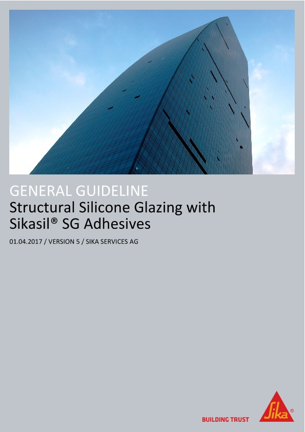 Structural silicone glazing with Sikasil® SG adhesives