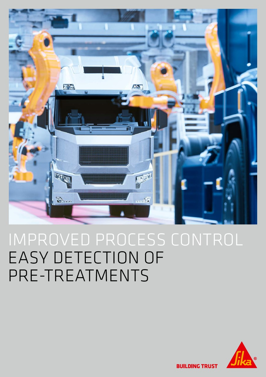 Improved process control - Easy detection of pre-treatments