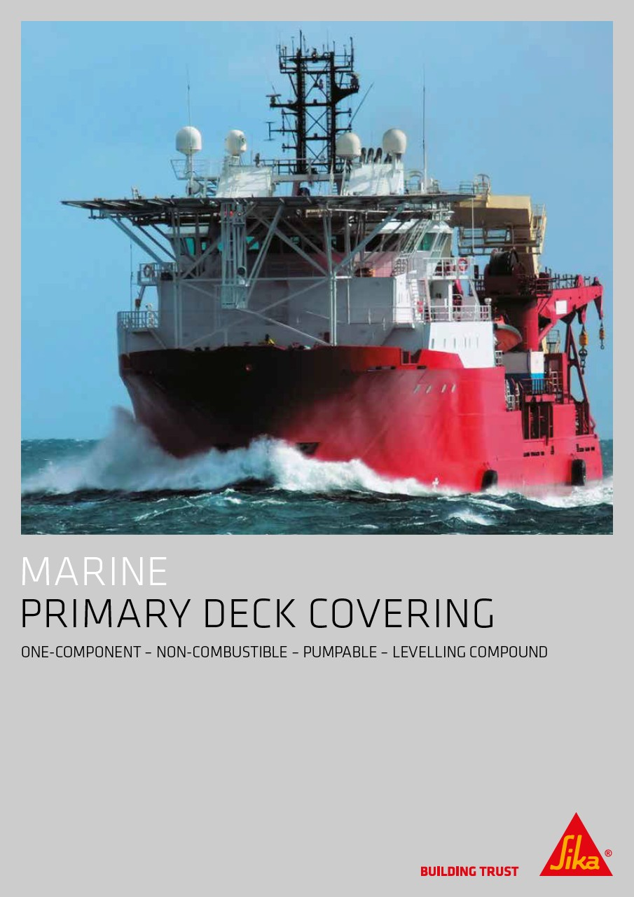 Marine - Primary Deck Covering